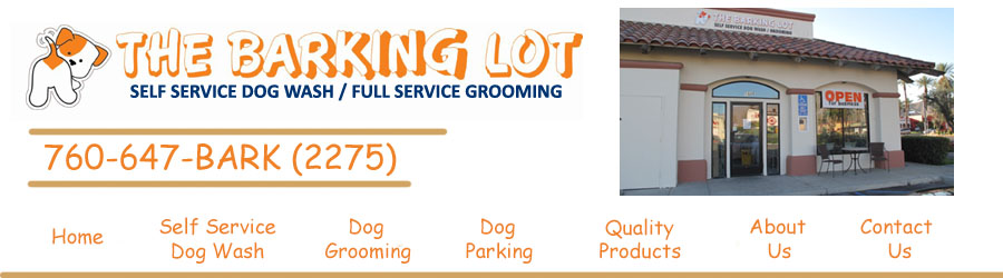 The barking lot palm springs self wash services are priced at 17 includes blueberry facial for any of the stainless steel tubs and 25 for use of the big dog tub solutioingenieria Images